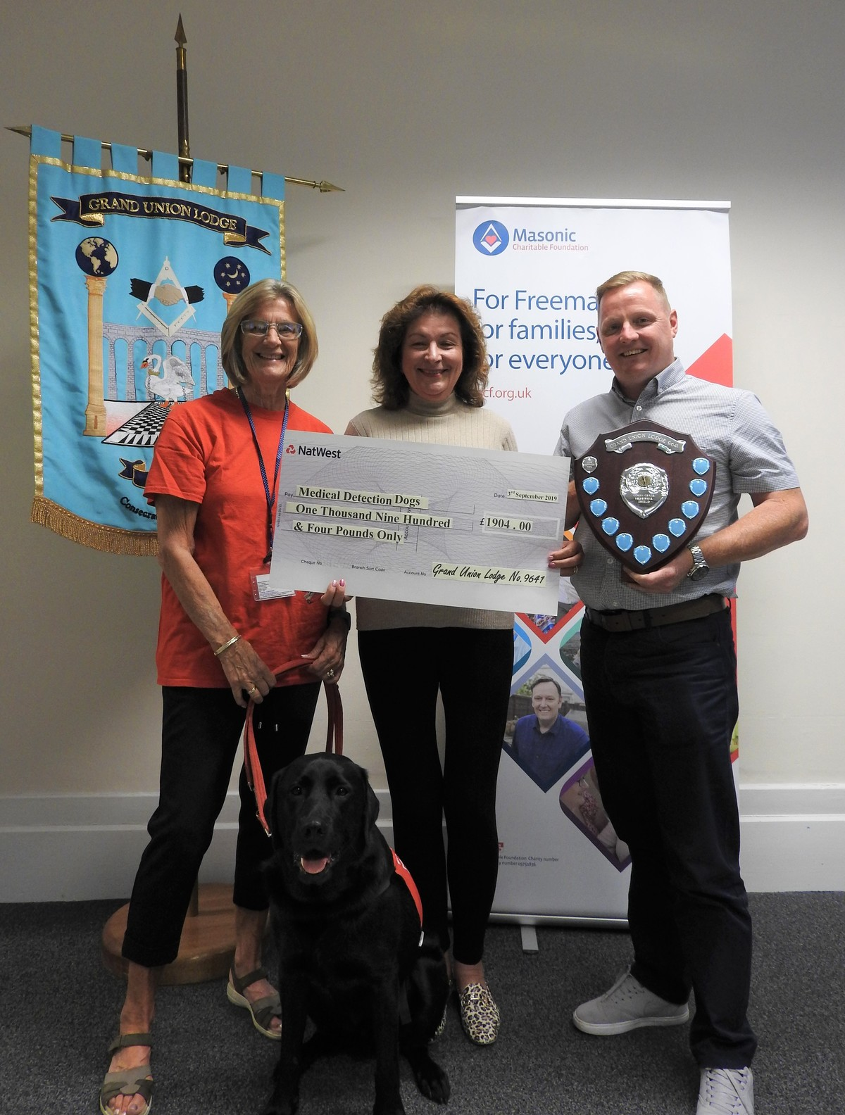Memorial Golf Day for Medical Detection Dogs