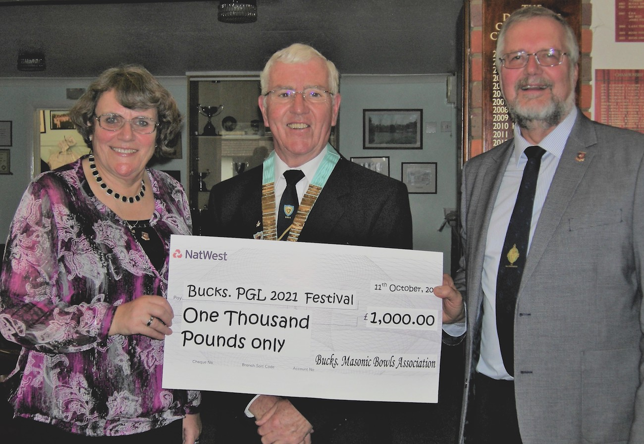 BMBA Gives £1,000 at Annual Luncheon to 2021 Festival